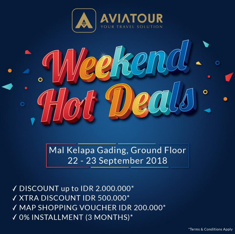 weekend hot deal mal kelapa gading 22-23 september