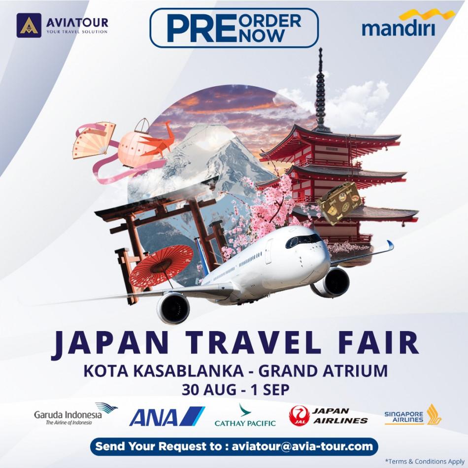 pre order japan travel fair