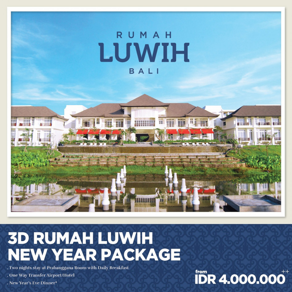 rumah luwih new year package
