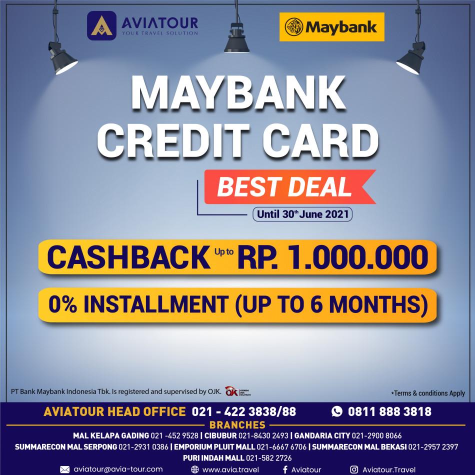 MAYBANK CREDIT CARD PROMO