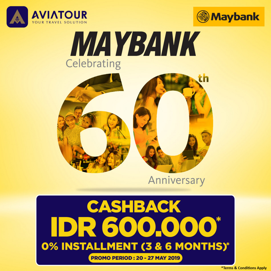 MAYBANK 60TH ANNIVERSARY