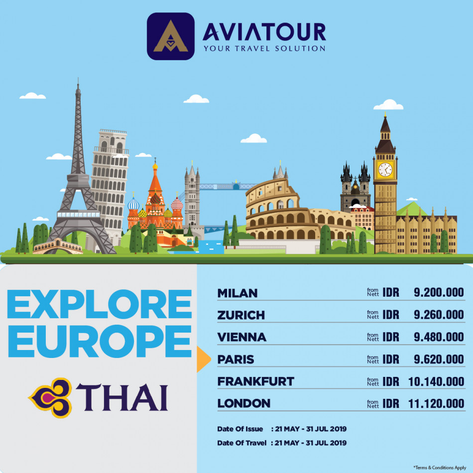 thai airways europe