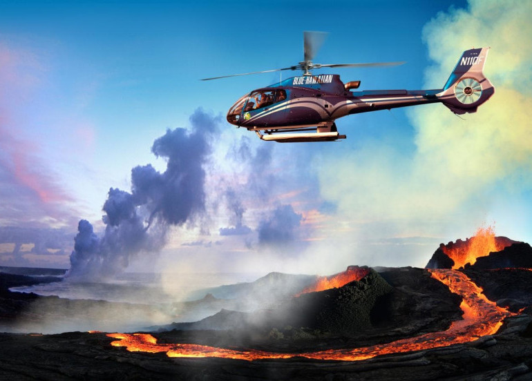 Avia Tour - G'DAY MONO HAWAII + PEARL HARBOR & HELI TO CIRCLE OF FIRE