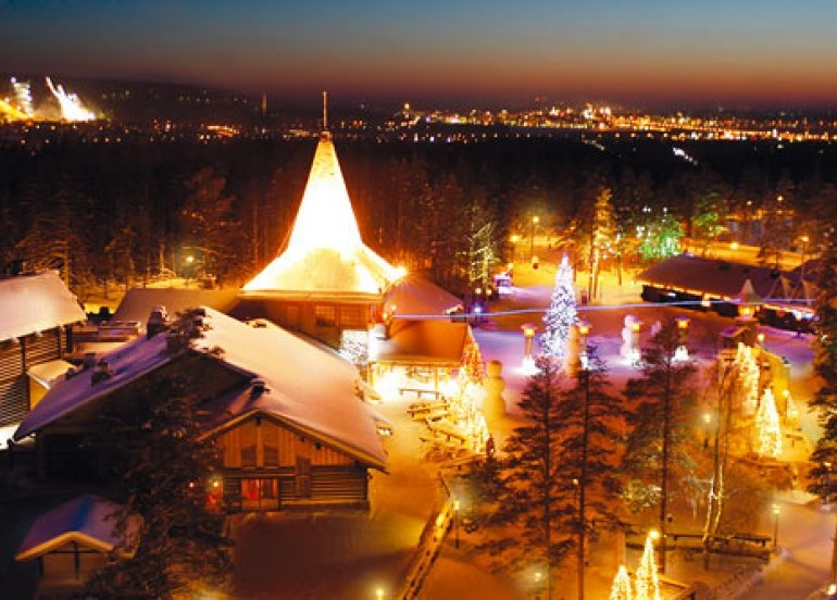 Avia Tour - SANTA CLAUSE & IGLOO VILLAGE TOUR